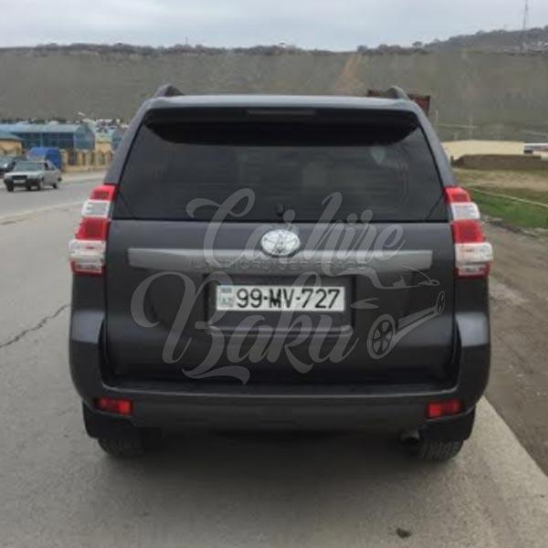 Toyota Prado 150R | Аренда внедорожников в Баку