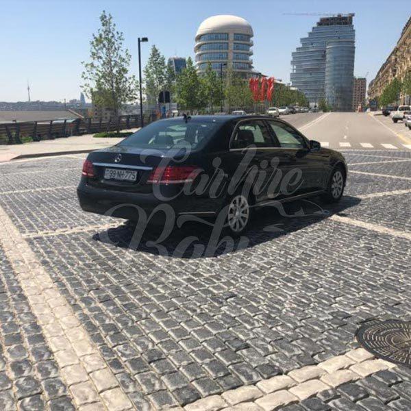 Mercedes E class / Business class rent a car Baku