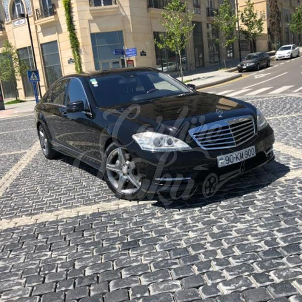 Mercedes S-class W-221 / VIP класс прокат машин в Баку, Азербайджане