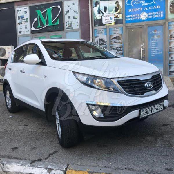 Kia Sportage / SUV class rental cars in Baku, Azerbaijan