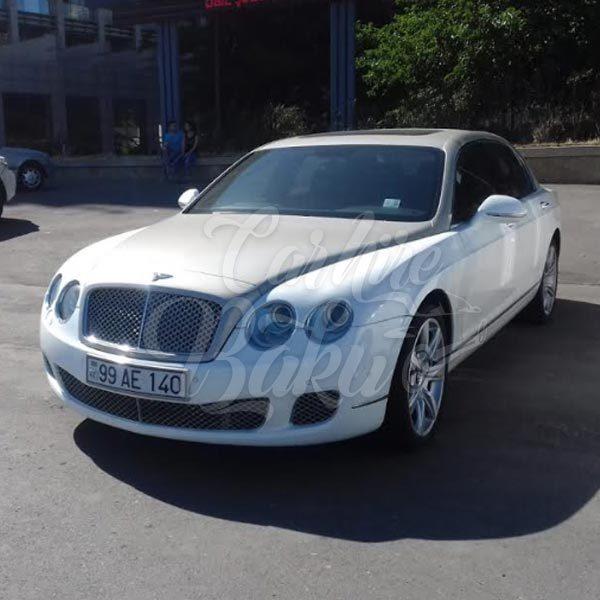 Bentley Continental Rent a car Baku, Azerbaijan