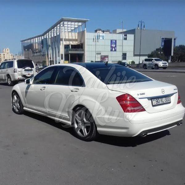 Mercedes Benz S-class W221 / Rent a car Baku / Car rental Baku