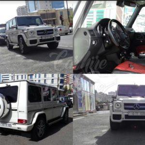 MercedesG63 AMG rent a car Baku / прокат авто в Баку / Arenda masinlar