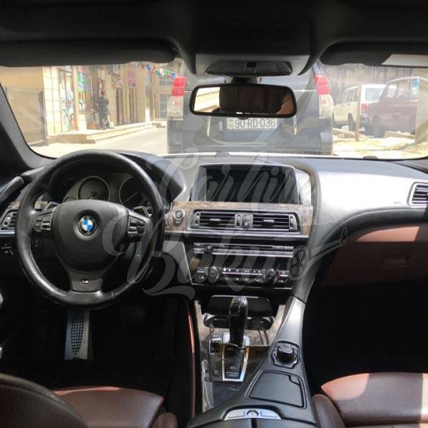 BMW 6 / rent a car Baku / прокат машин в Баку / arenda masinlar