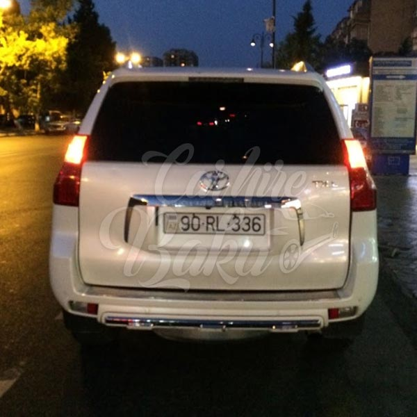 Toyota Prado 150R / rent a car Baku / kiraye masinlar / аренда авто в Баку