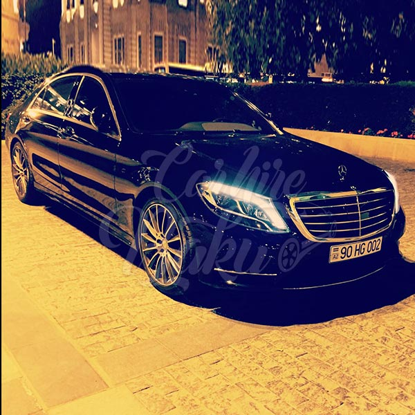Mercedes W222 / rent a car Baku / arenda masinlar / аренда авто в Баку