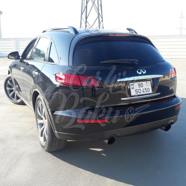 Infinity FX45 / car rental Baku / avtomobil kirayesi / аренда машин в Баку