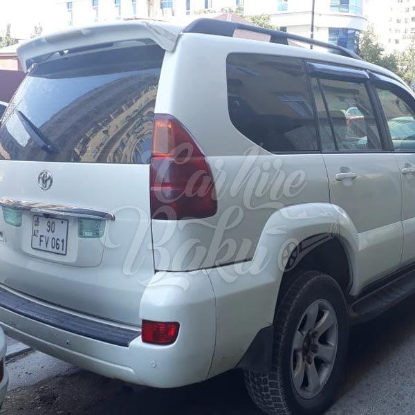 Toyota Prado 120 / rental cars in Baku / arenda masinlar / прокат машин в Баку