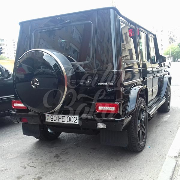 Mercedes G63 AMG / rental cars in Baku / avtomobil kirayesi / аренда машин в Баку