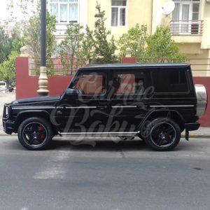 Mercedes G63 AMG / rental cars in Baku / avtomobil kirayesi / аренда машин в Баку