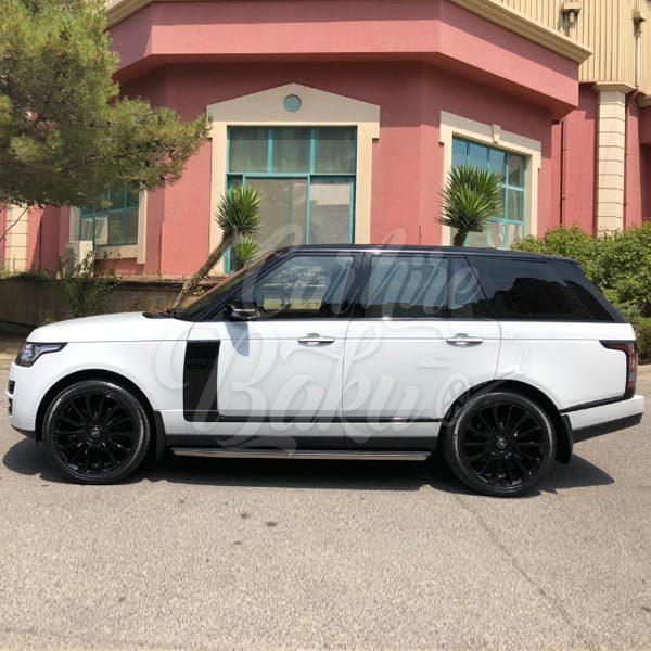 Land Rover Range Rover / car rental Baku / avtomobil kirayesi / аренда машин в Баку