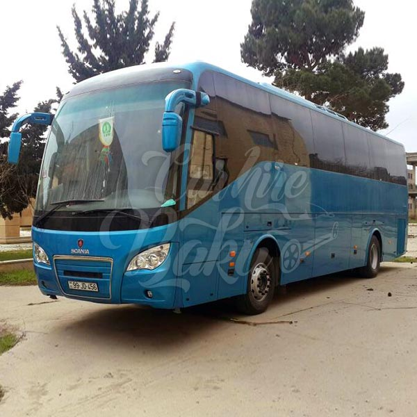 Scania Higer A80 / rental bus in Baku, Azerbaijan / avtobus icaresi / аренда автобусов в Баку