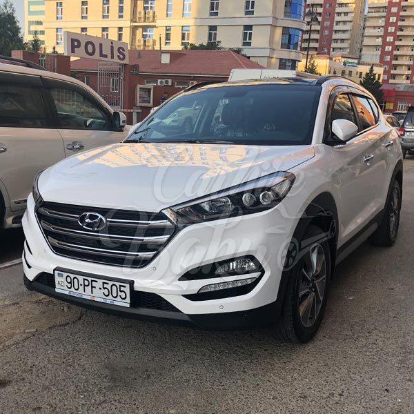 Hyundai Tucson / SUV class rental cars in Baku / Yolsuzluq klass prokat masinlar / Прокат внедорожников в Баку