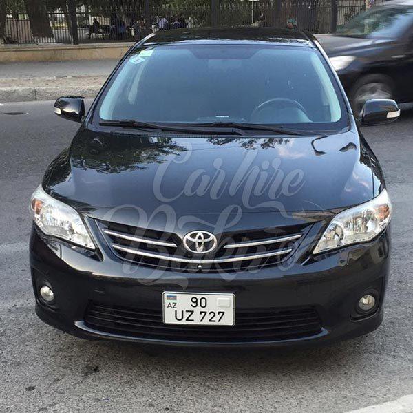 Toyota Corolla (2013) | Economy class rental cars Baku, Azerbaijan