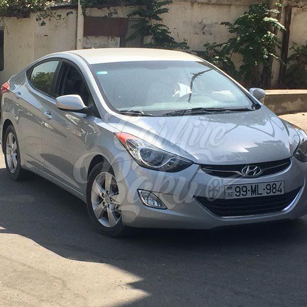 Hyundai Elantra / Rental cars Baku / Arenda Maşınlar / Машины на прокат / 20102018