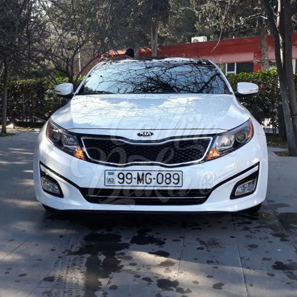Kia Optima | Business class rental cars in Baku, Azerbaijan / 16102018