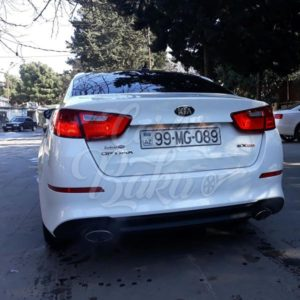 Kia Optima | Business Class Rental Cars In Baku, Azerbaijan / 16102018