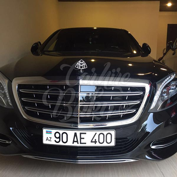 Mercedes-Benz Maybach / VIP class rent a car Baku / 17102018