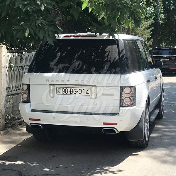 Land Rover Range Rover / car rental Baku / avtomobil kirayesi / аренда машин в Баку / 16102018