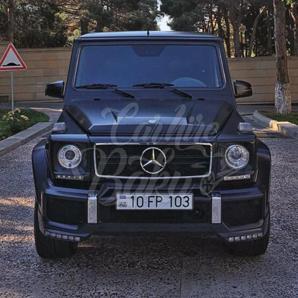 Mercedes G63 AMG / rental cars in Baku / avtomobil kirayesi / аренда машин в Баку / 31102018