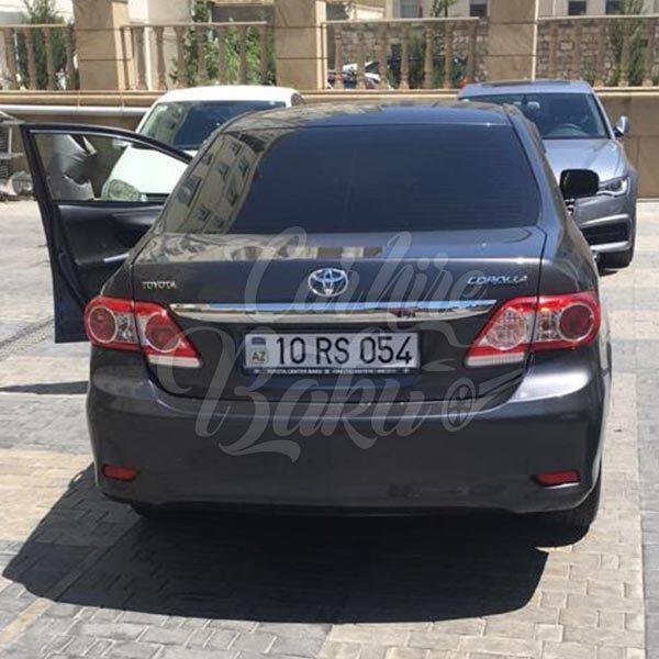 Toyota Corolla (2013) | Economy class rental cars Baku, Azerbaijan / 30102018