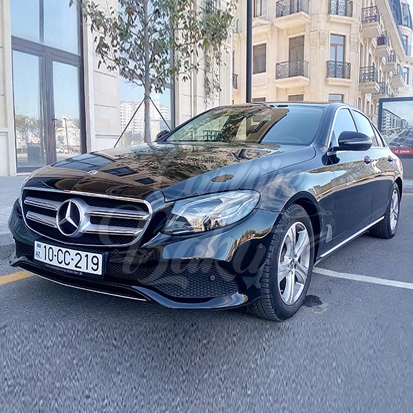 Mercedes E-class (2017) / Rent a car Baku / Arenda masinlar / Аренда авто в Баку