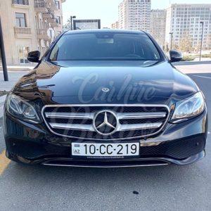 Mercedes E-class (2017) / Rent a car Baku / Arenda masinlar / Аренда авто в Баку