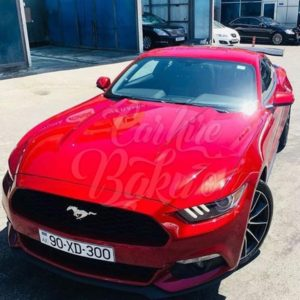 Ford Mustang 2016 / Rent A Car Baku / аренда авто в Баку / Arenda Masinlar 14022019