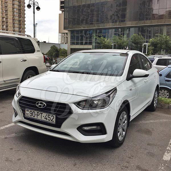 Hyundai Accent 2018 / rental cars in Baku / Bakida kiraye masinlar / Аренда машин в Баку 15022019
