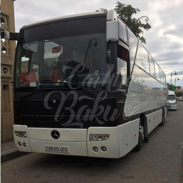 Mercedes Benz 403 / rental bus in Baku, Azerbaijan / avtobus icaresi / аренда автобусов в Баку 14022019