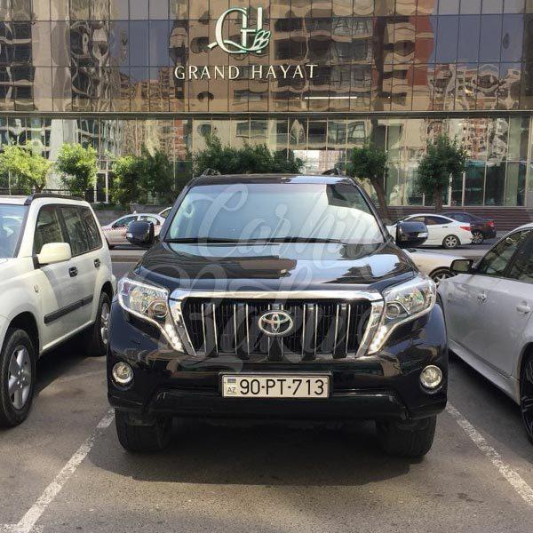 Toyota Prado 2015 / rental cars in Baku / Bakida kiraye masinlar / Аренда машин в Баку 16022019