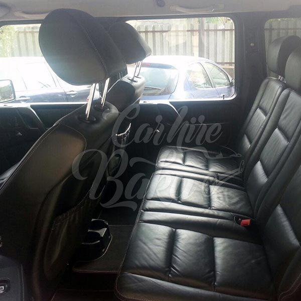 Mercedes G55 AMG (02/02/2019) | VIP class rental cars in Baku, Azerbaijan