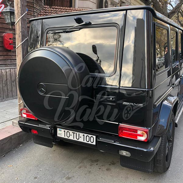 Mercedes G63 AMG / rental cars in Baku / avtomobil kirayesi / аренда машин в Баку 02022019