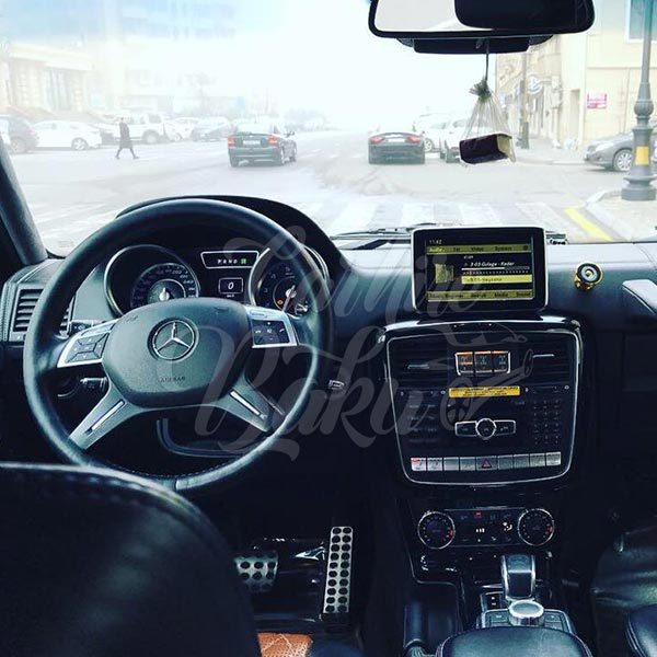 Mercedes G63 AMG / rental cars in Baku / avtomobil kirayesi / аренда машин в Баку 03022019