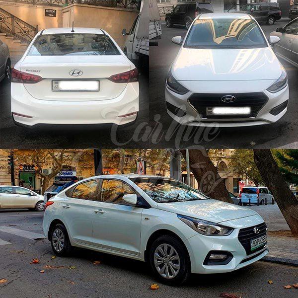 Hyundai Accent 2018 / rental cars in Baku / Bakida kiraye masinlar / Аренда машин в Баку 02022019