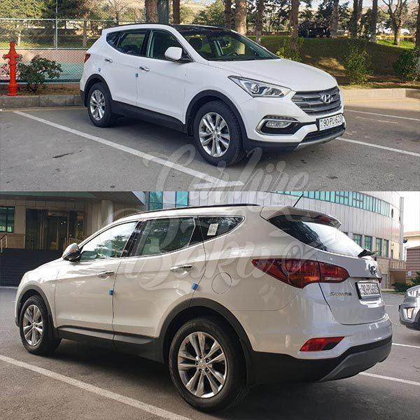 Hyundai Santa Fe / car rental Baku / машины на прокат в Баку / icare masinlar 03022019