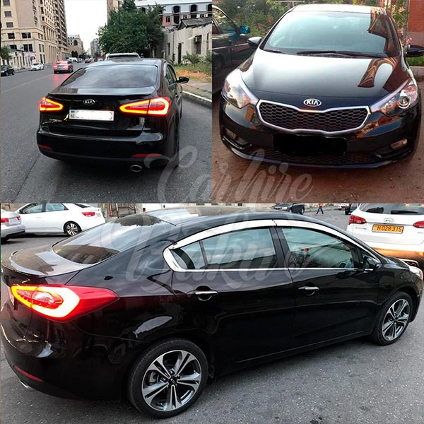 Kia Cerato 2014 / rent a car in Baku / kiraye avtomobil / аренда автомобилей в Баку 03022019