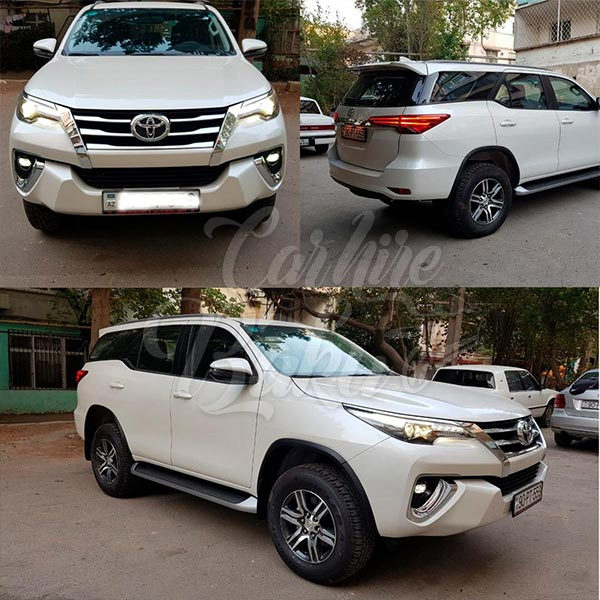 Toyota Fortuner 2018 / rent a car in Baku / kiraye avtomobil / аренда автомобилей в Баку 03022019