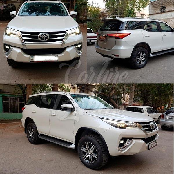 Toyota Fortuner 2018 / rent a car in Baku / kiraye avtomobil / аренда автомобилей в Баку 03022019