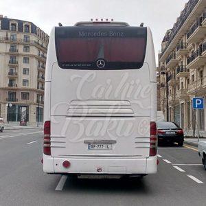 Mercedes-Benz Travego 2012 / Buses and car rental in Baku, Azerbaijan / Аренда автобусов в Баку, Азербайджане / Bakıda avtobusların icarəsi