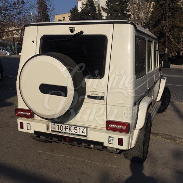 Mercedes G55 2011 / rental cars in Baku / Bakida kiraye masinlar / Аренда машин в Баку 11042019