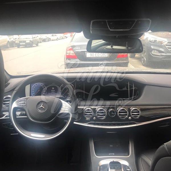 Mercedes S-class (2017) / Rental cars in Baku, Azerbaijan / Kirayə maşınlar / Авто на прокат в Баку, Азербайджан 14.05.2019
