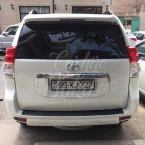 Toyota Prado (2015) / Rental cars in Baku, Azerbaijan / Kirayə maşınlar / Авто на прокат в Баку, Азербайджан 14.05.2019