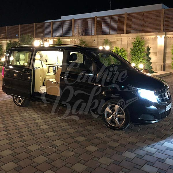 Mercedes V-class VIP (2018) / Rental cars in Baku, Azerbaijan / Kirayə maşınlar / Авто на прокат в Баку, Азербайджан 14.05.2019