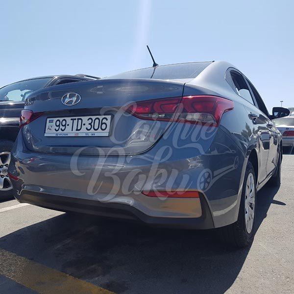 Hyundai Accent 2018 / rental cars in Baku / Bakida kiraye masinlar / Аренда машин в Баку 14.09.2019