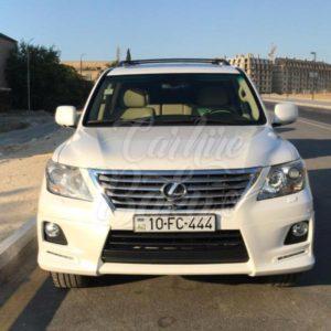 Lexus LX570 (2015) / Car Rental Baku / Avtomobil Kirayesi / аренда машин в Баку 14.09.2019