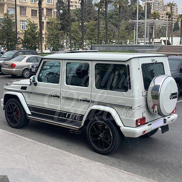 Mercedes G63 AMG / car rental Baku / avtomobil kirayesi / аренда машин в Баку 24092019