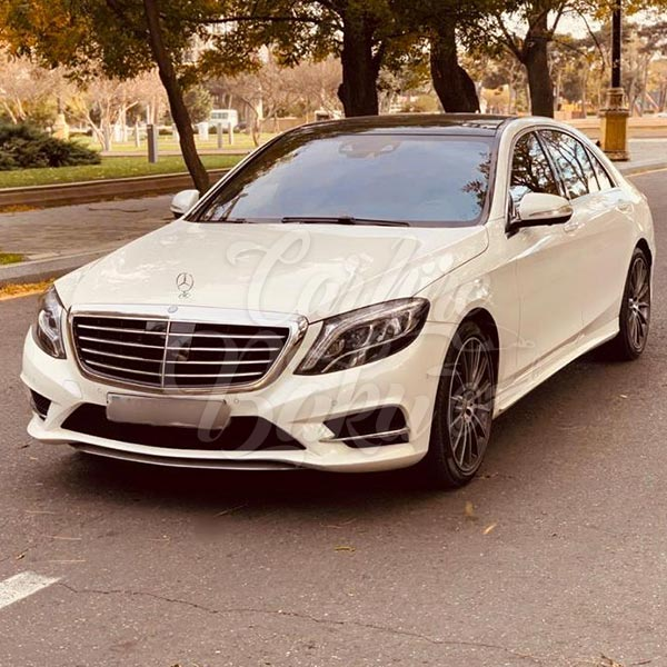 Mercedes S-class (2016) / car rental Baku / avtomobil kirayəsi / аренда автомобилей в Баку / 24092019
