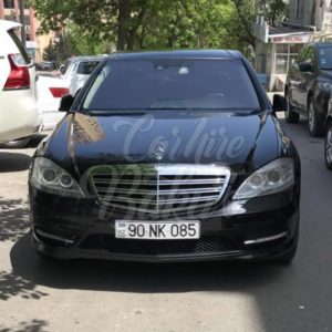 Mercedes Benz S-class W221 (2012) / Rent A Car Baku / Car Rental Baku 14.09.2019