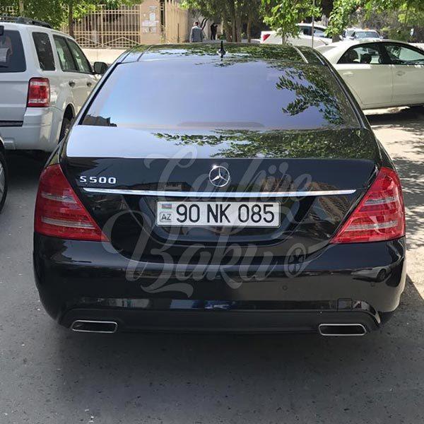 Mercedes Benz S-class W221 (2012) / Rent a car Baku / Car rental Baku 14.09.2019